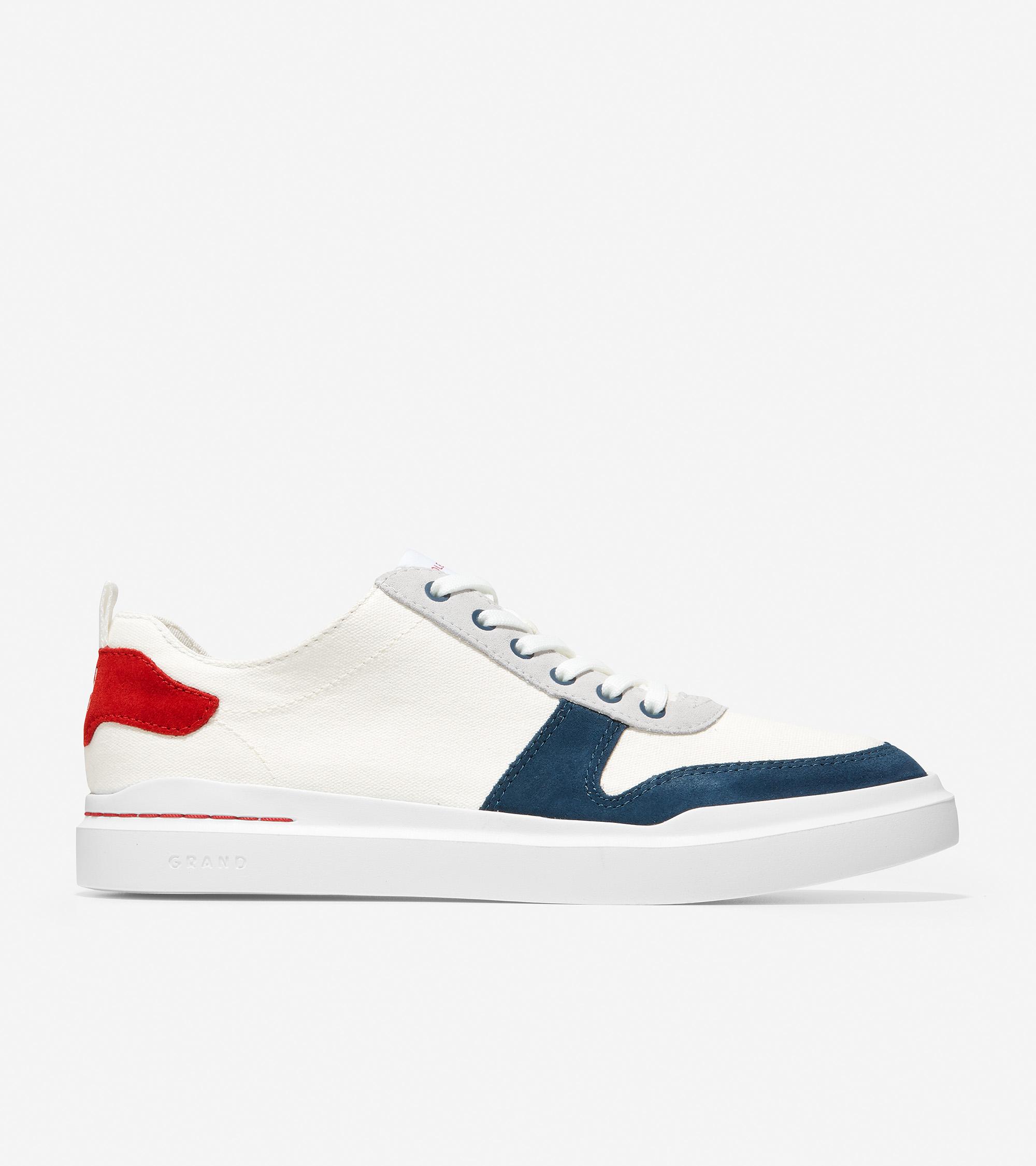 Men's GrandPrø Rally Canvas Court Sneaker