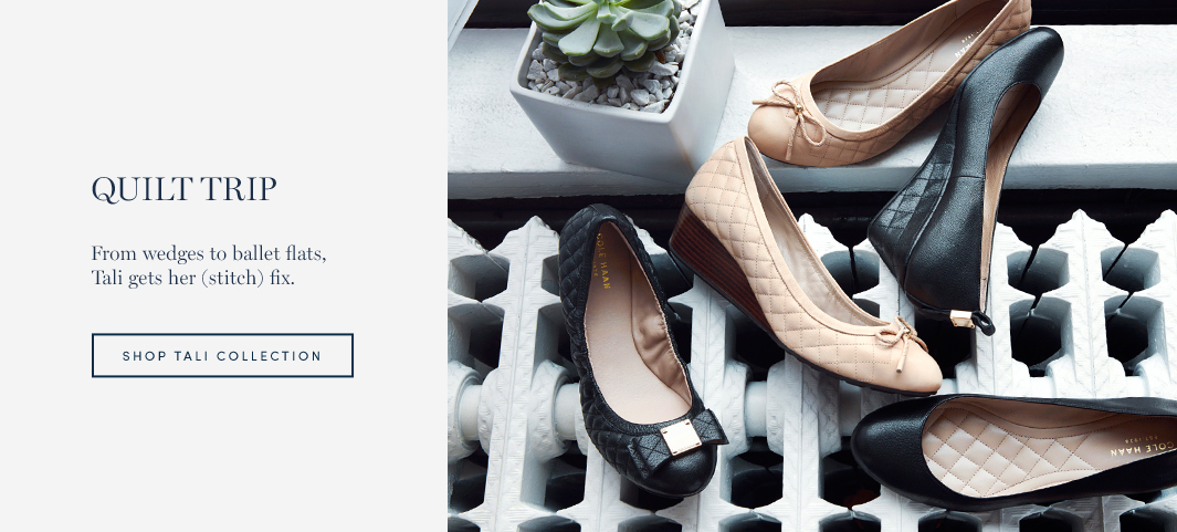 Quilt Trip: From wedges to ballet flats, Tali gets her (stitch) fix.