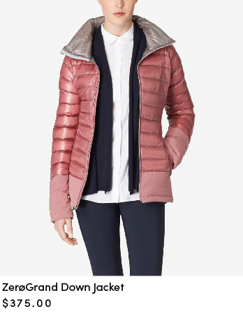 ZEROGRAND Down Jacket