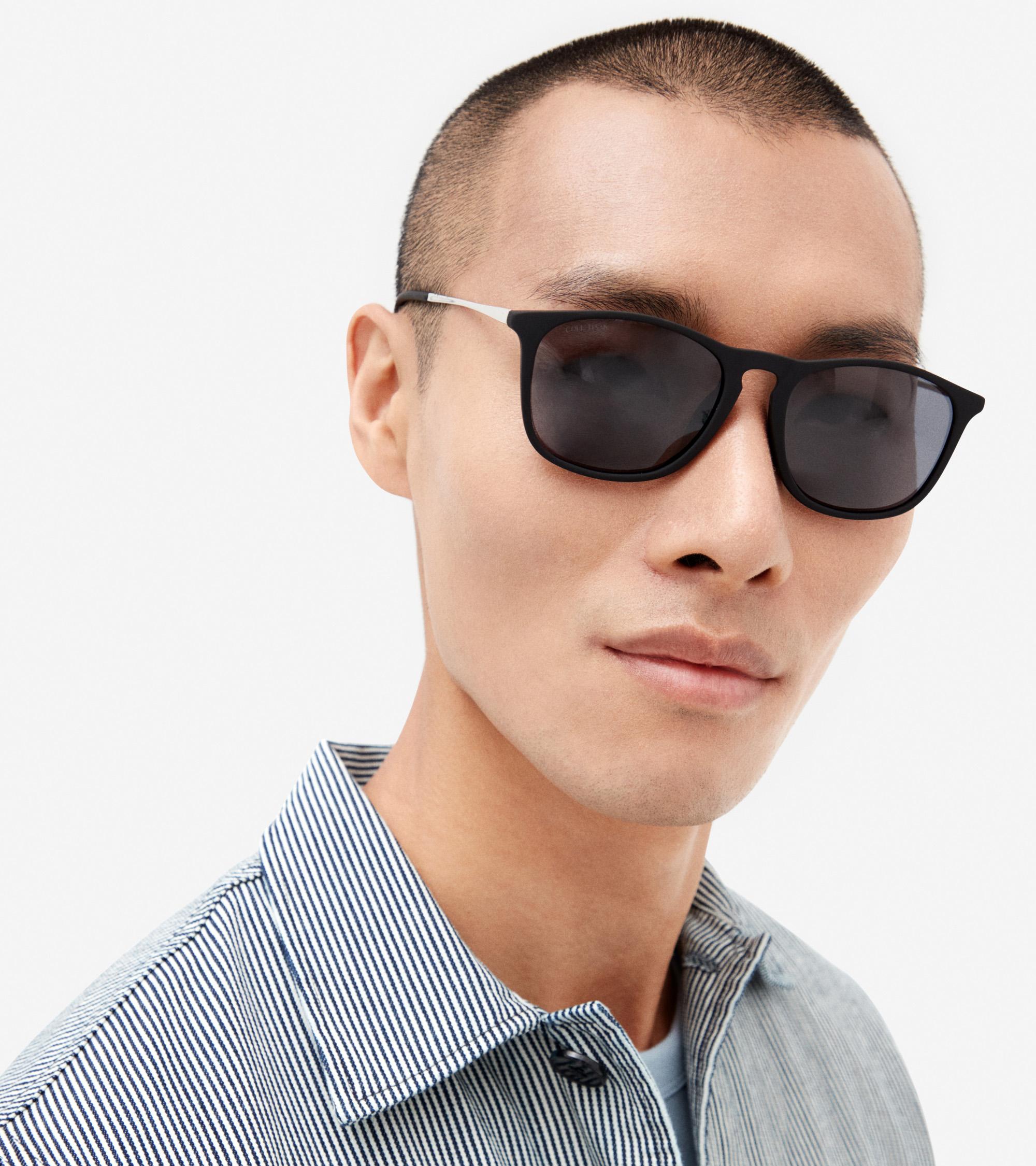 Men's Retro Square Sunglasses