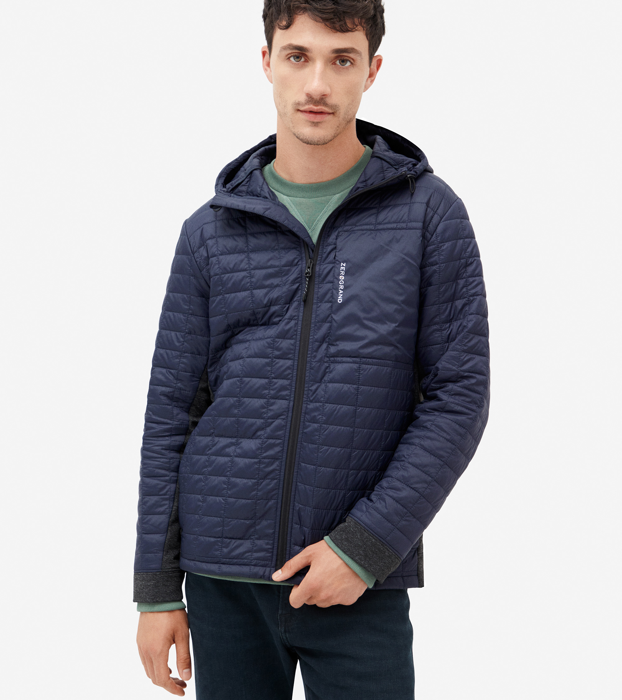 ZERØGRAND Quilted Hoodie