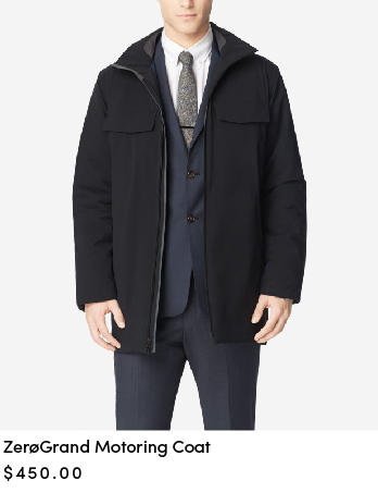 ZEROGRAND Motoring Coat
