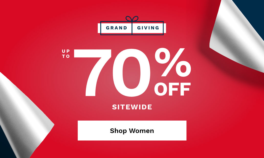 Shop Women's Up To 70% Off Sitewide.