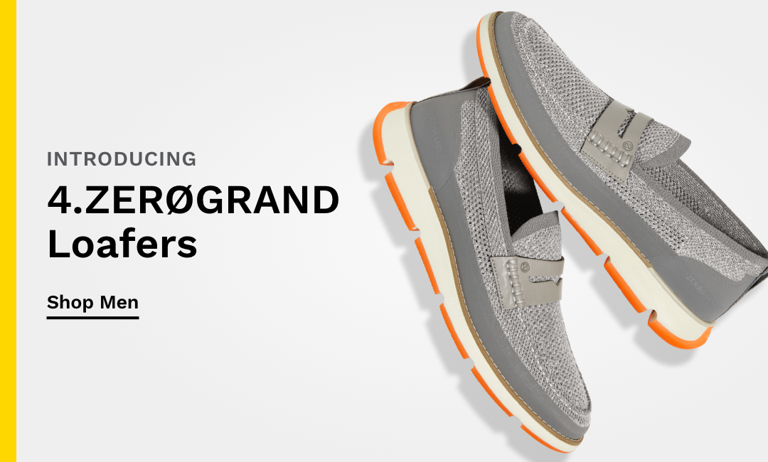 Introducing Men's 4.ZERØGRAND Loafers.