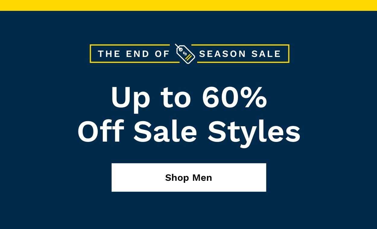 Shop Men's Up to 60% Off.