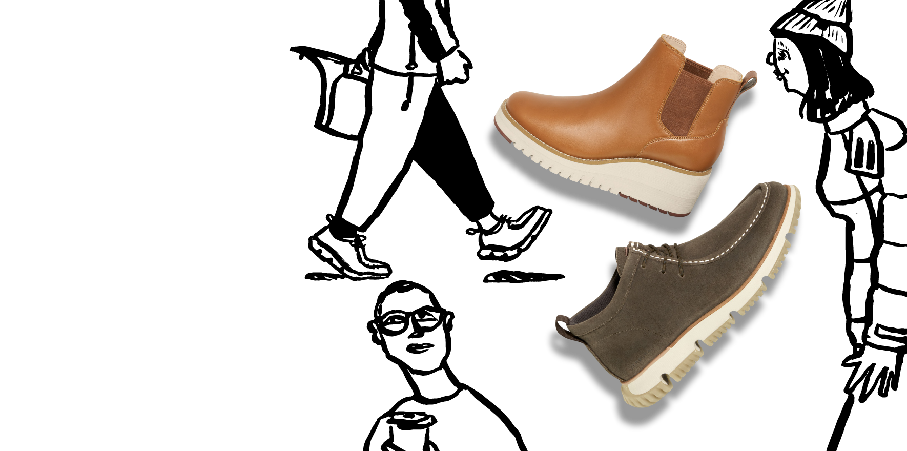 Weather-ready boots from Cole Haan