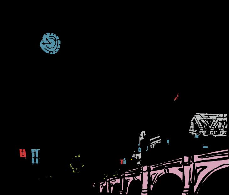 Cole Haan City Guide - London - Illustration - Big Ben