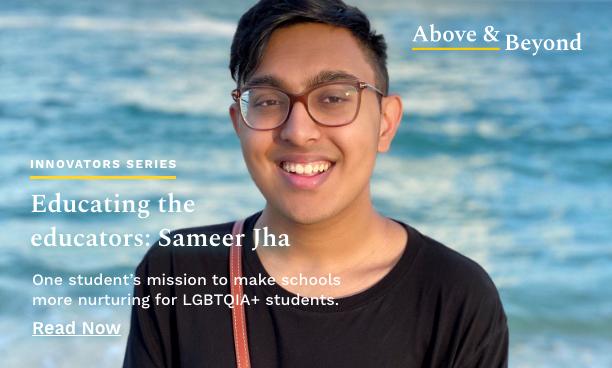 Educating the educators: Sameer Jha