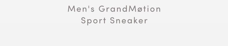 MEN'S GRANDMOTION SPORTS SNEAKER