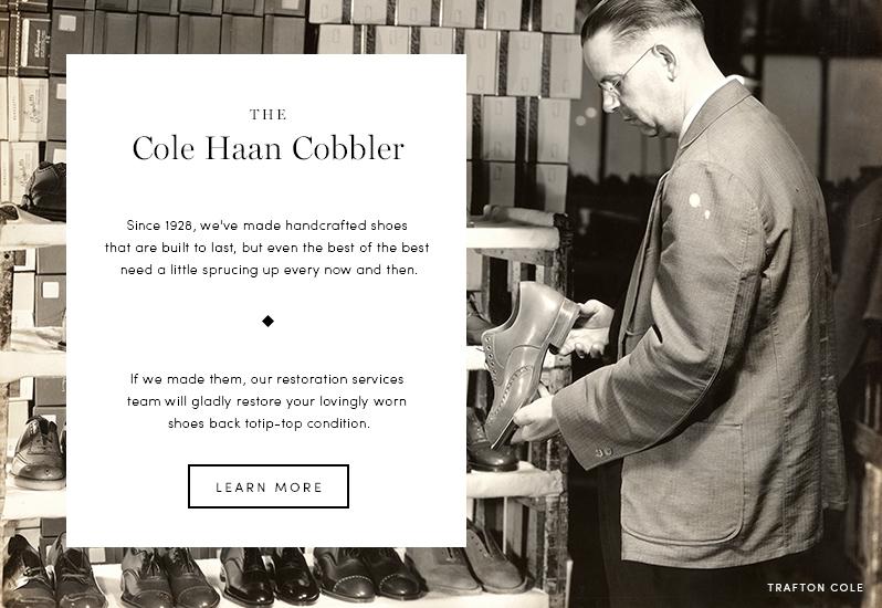 The Cole Haan Cobbler