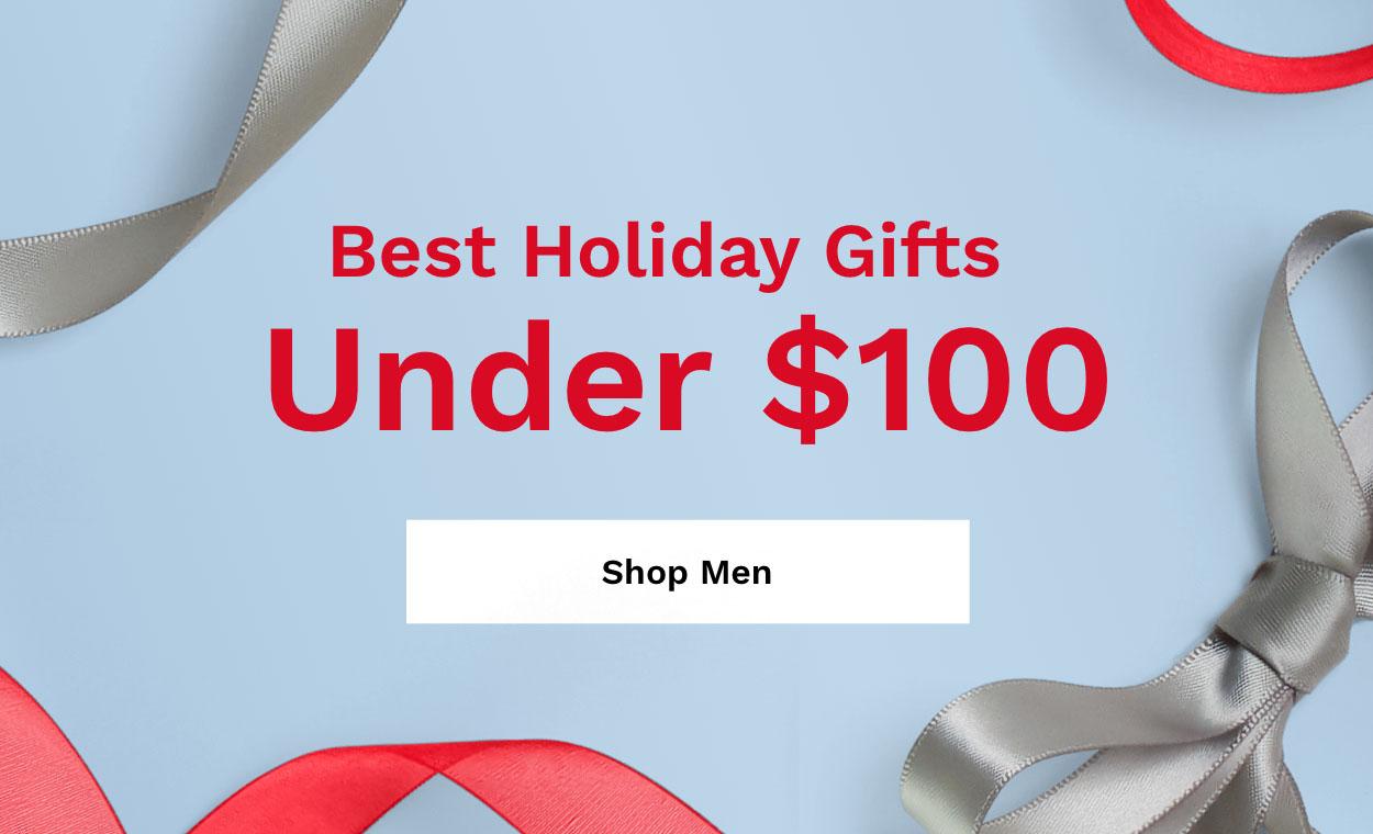 Shop Men's Under $100.