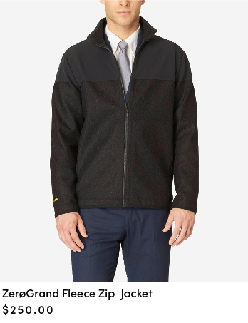 ZEROGRAND Fleece Zip Jacket