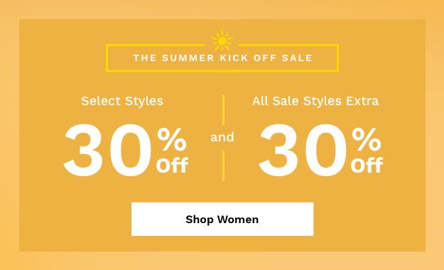Shop Women's Summer Kick Off Sale