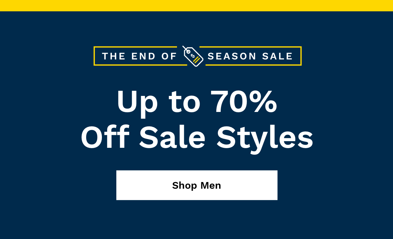 Shop Men's Up to 70% Off.