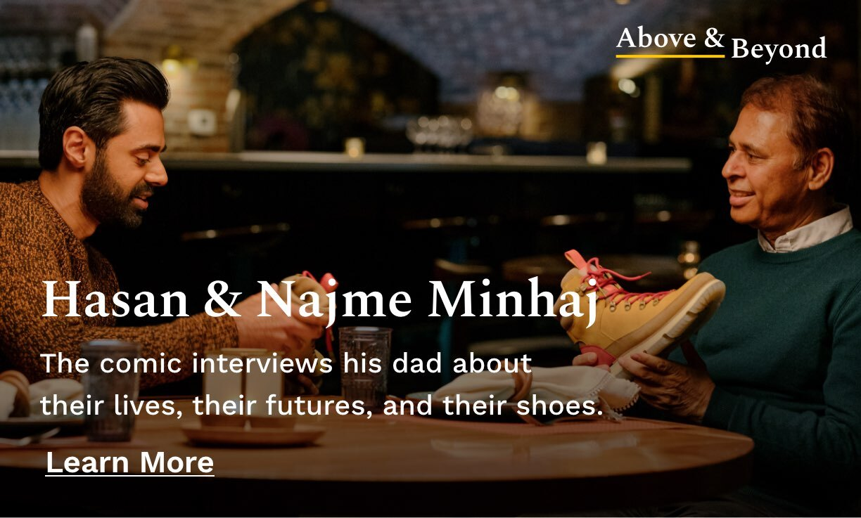 The comic interviews his dad about their lives, their futures, and their shoes.