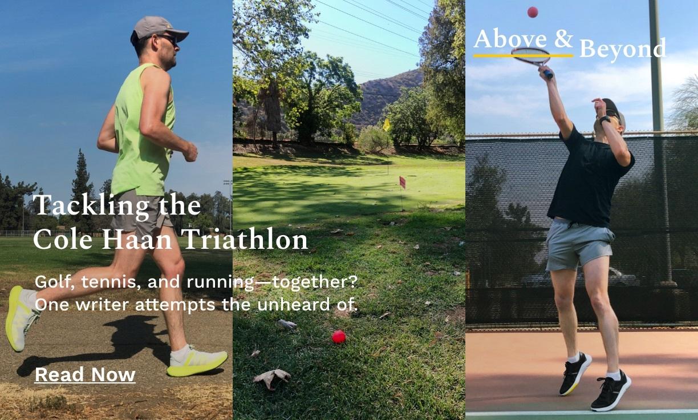 Tackling the Cole Haan Triathlon