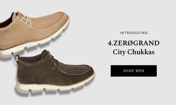 Shop Men's 4.ZERØGRAND City Chukka.