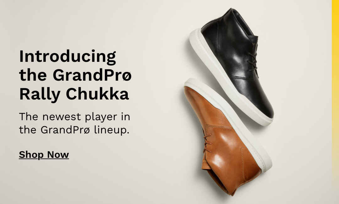 Introducing the GrandPro Rally Chukka