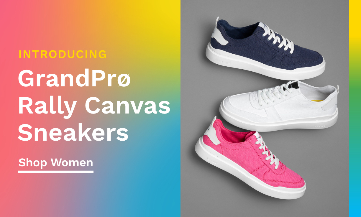 Introducing GrandPrø Rally Canvas Sneakers
