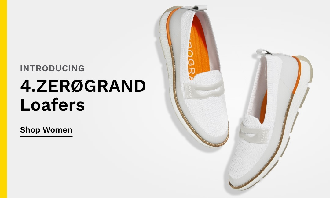 Introducing Women's 4.ZERØGRAND Loafers