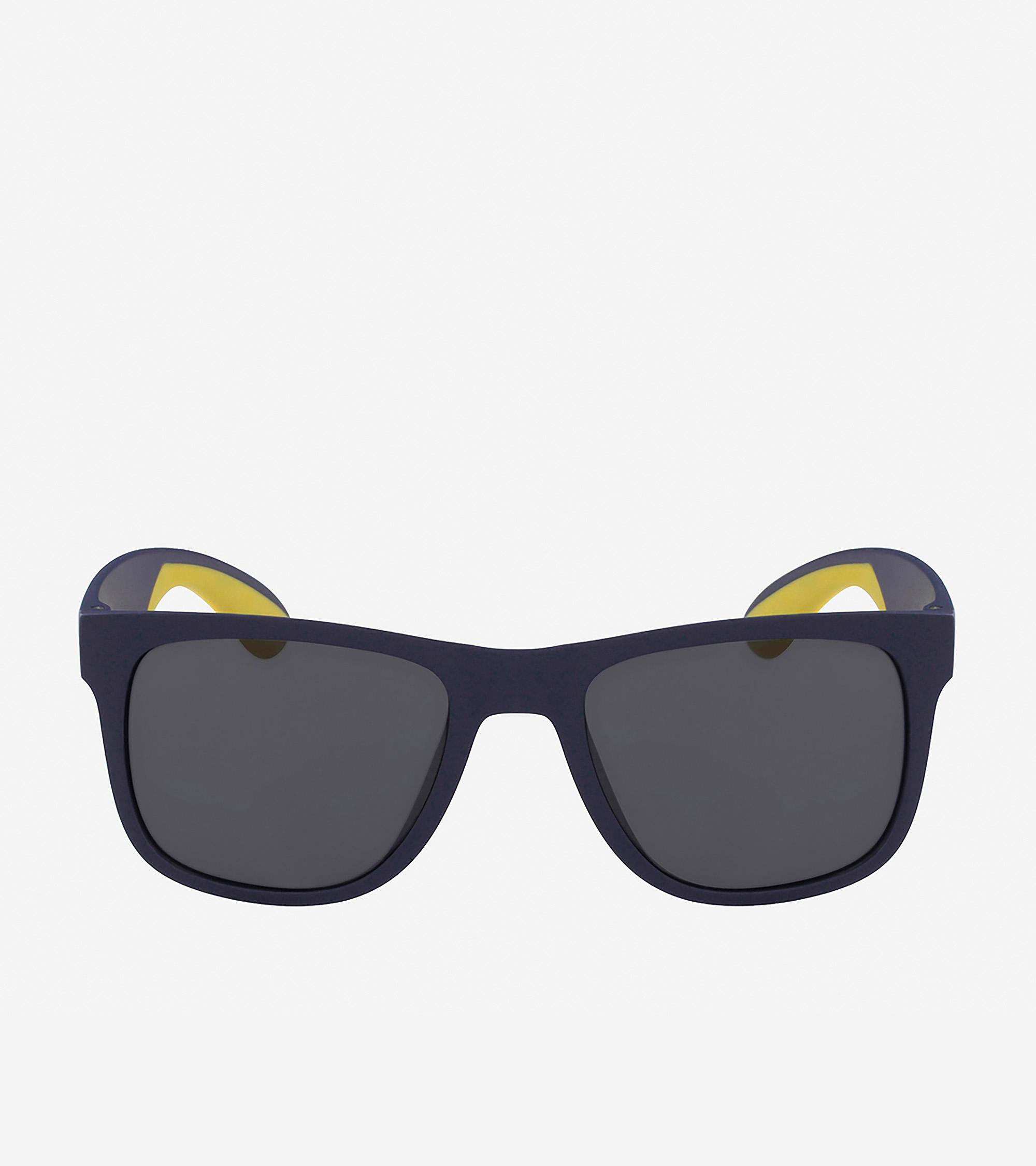ac933690ee13 Men's Men's Sport Rectangle Sunglasses in Matte Navy | Cole Haan US