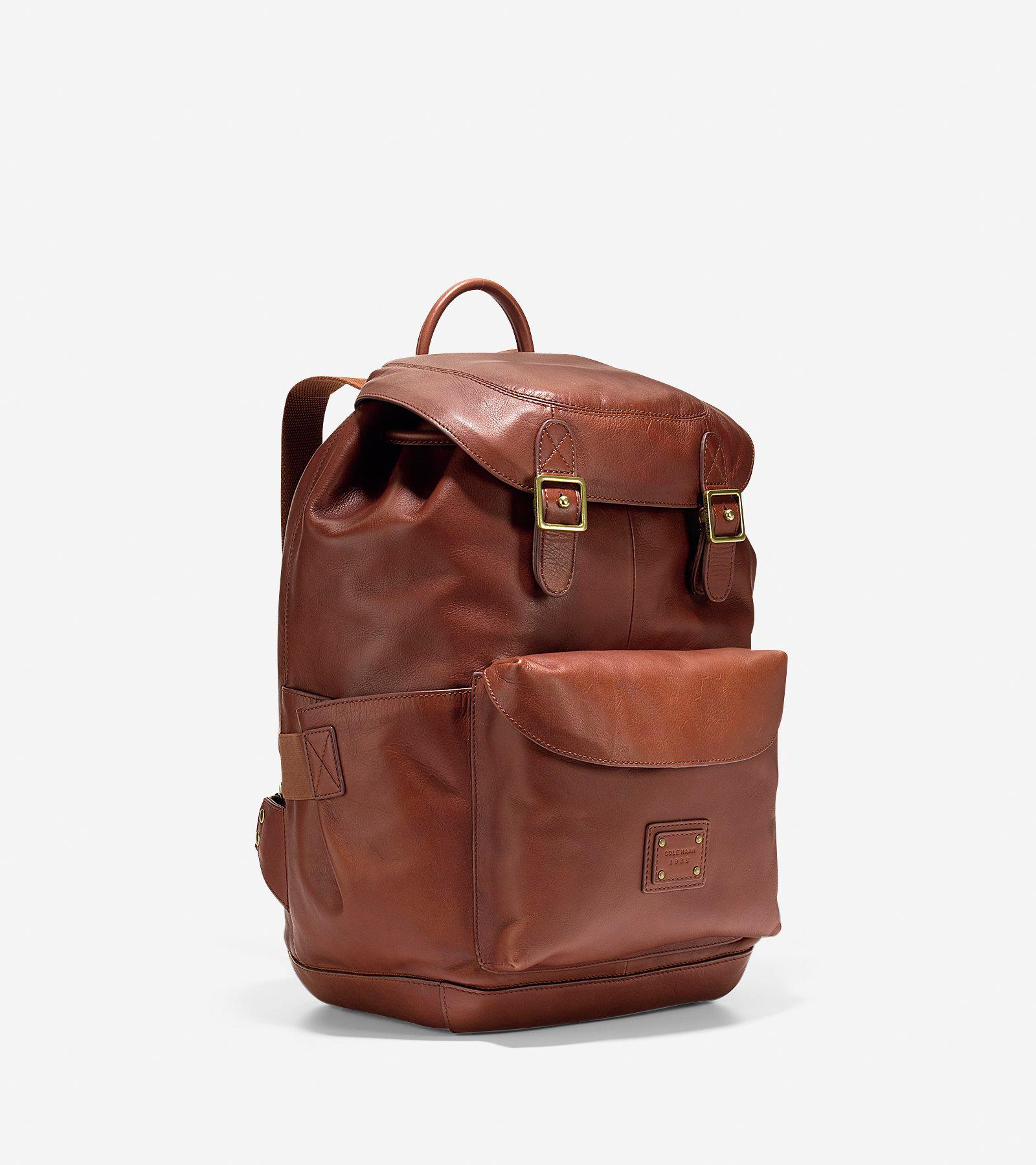 29c2f210e Women's Van Buren Backpack in British Tan | Cole Haan US