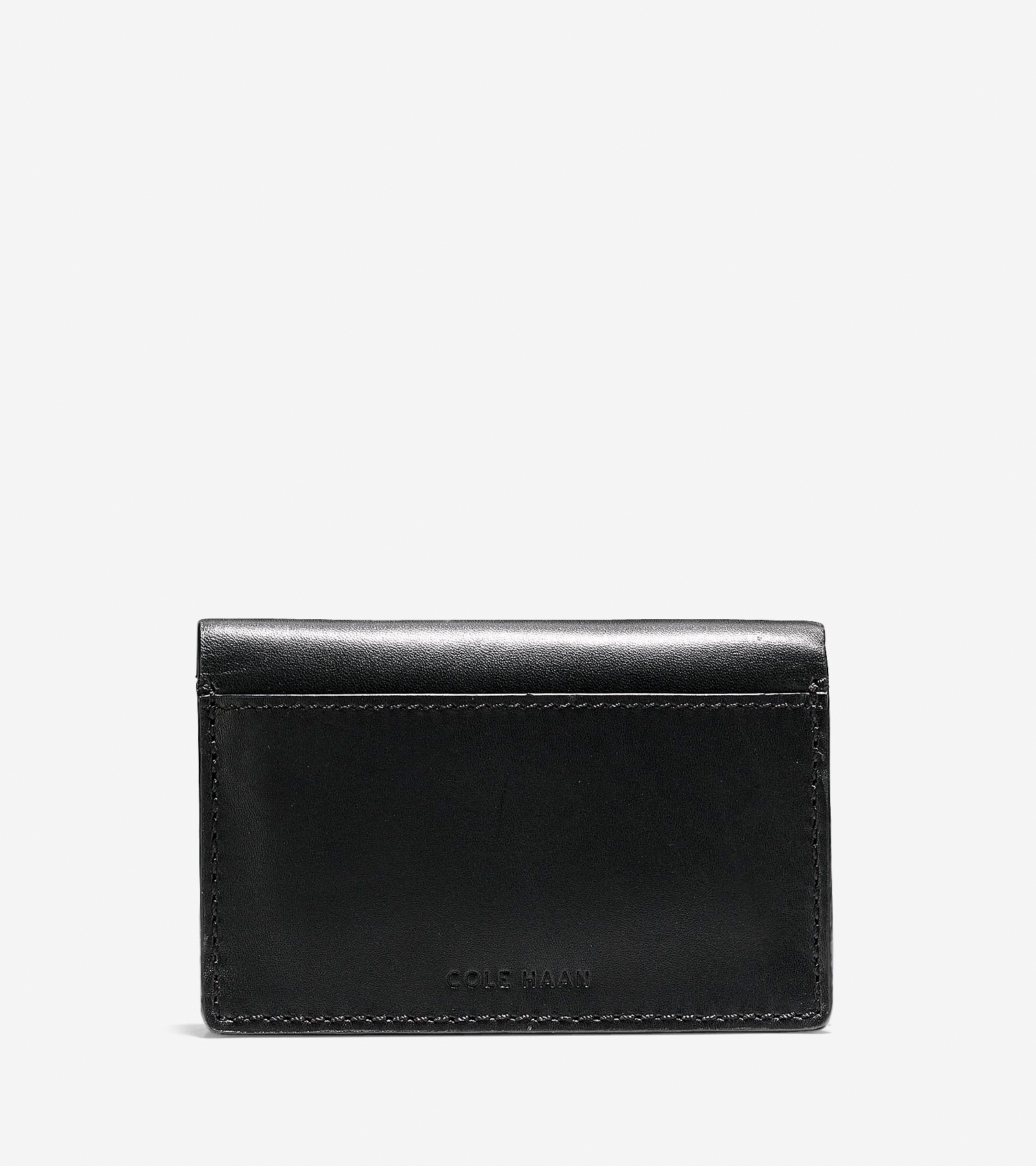 new styles a9cdf dd9cb Men's Washington Grand Business Card Case in Black | Cole Haan