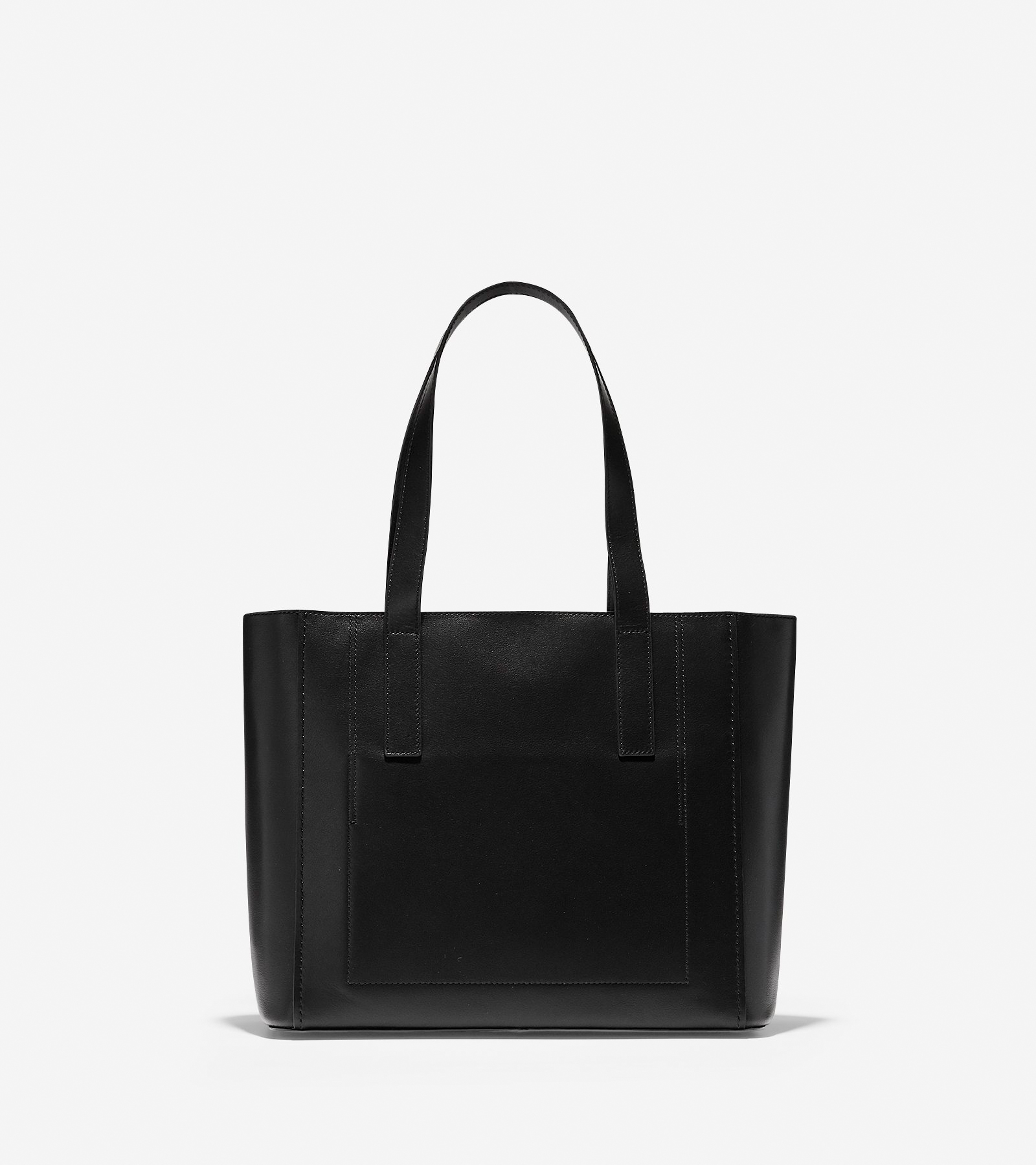 5d6e1837d Women's Grand.ØS Leather Small Tote in Black Leather | Cole Haan US