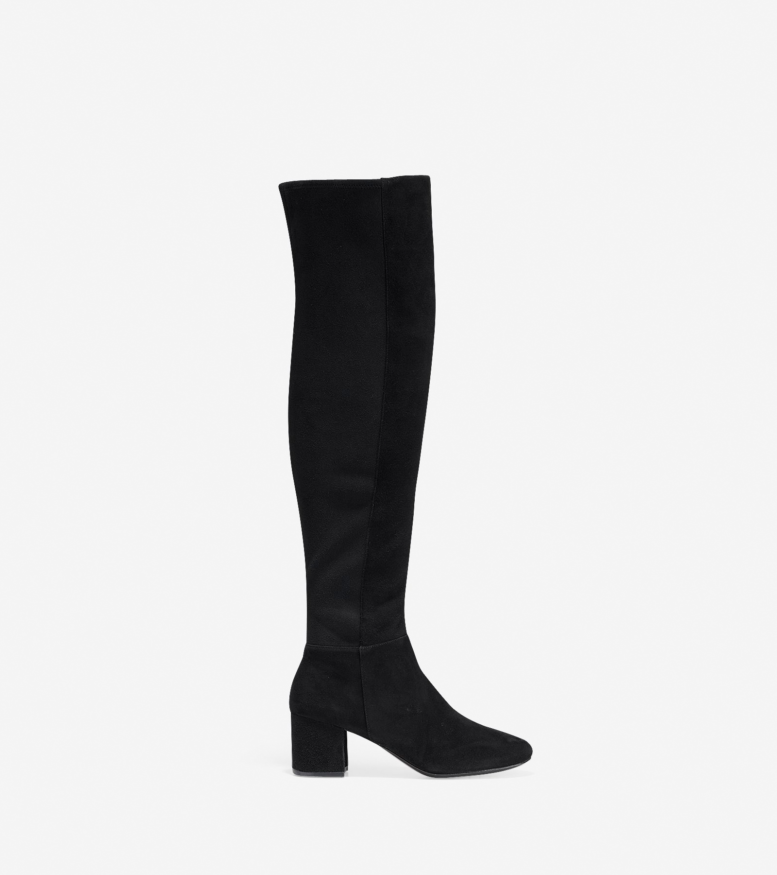 7fab7e033 Women's Elnora Over The Knee Boot (60mm) in Black Suede | Cole Haan US