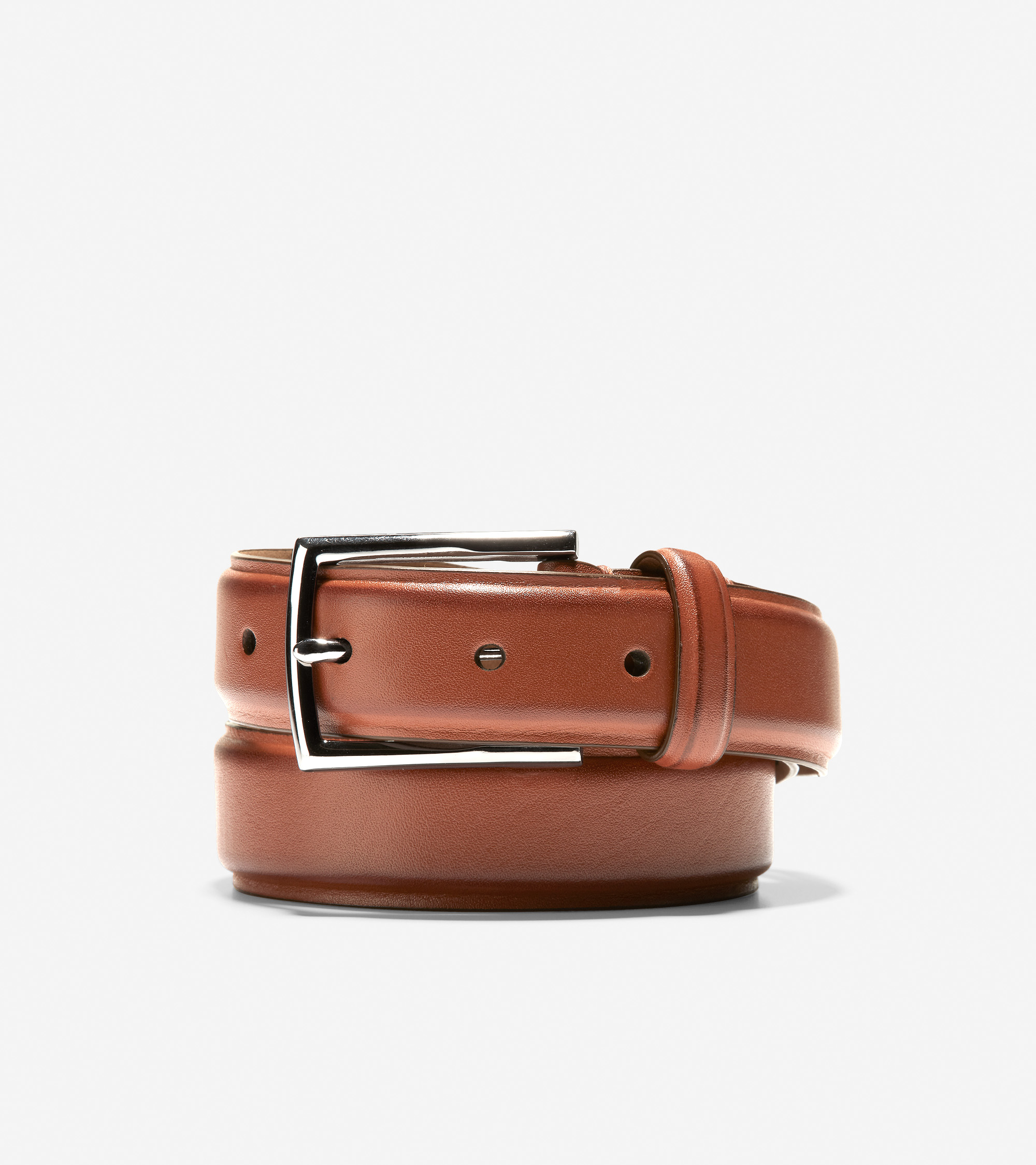 558291dcca Men's Feathercraft 30mm Belt in British Tan Leather | Cole Haan US