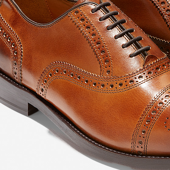 fa0d72ab4f470f Men's Cole Haan American Classic Kneeland Brogue Cap Toe Oxford in ...