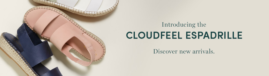Cloudfeel Espadrille - Discover new arrivals