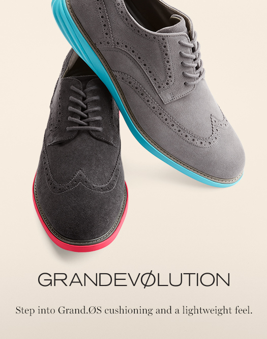 Grandevolution -Step into Grand.Os cushioning and a lightweight feel.