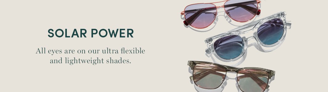 Solar Power. All eyes are on our ultra flexible and lightweight shades