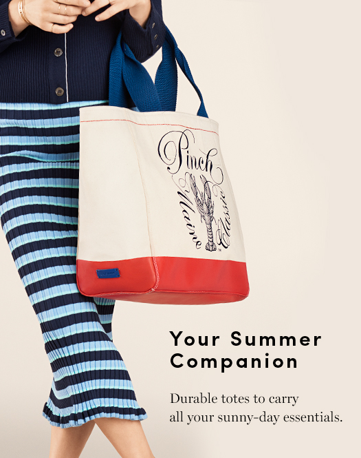 Your Summer Companion - Durable totes to carry all your sunny-day essentials.