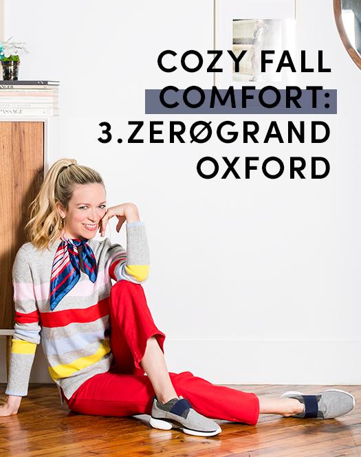 Cozy Fall Comfort: 3.ZEROGRAND Oxford.