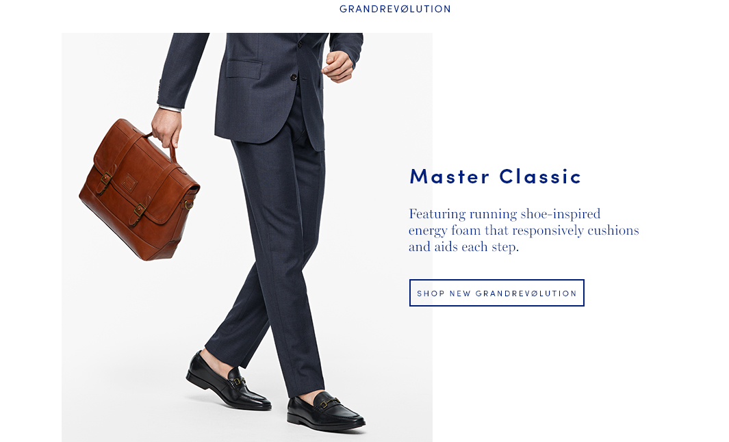 Master Classic: Featuring running shoe-inspired energy foam that responsively cushions and aids each step.