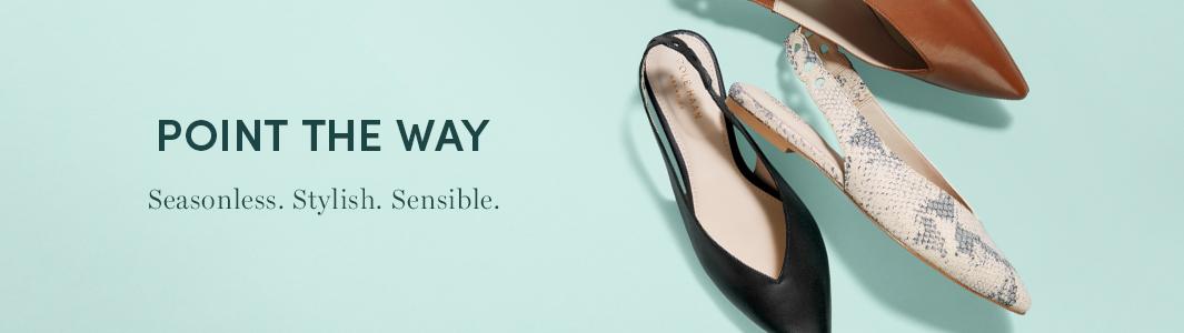 Point The Way - Seasonless. Stylish. Sensible.