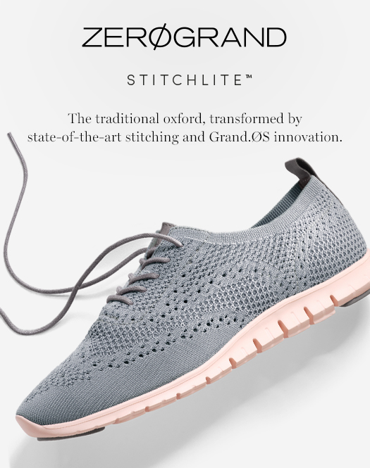 ZERØGRAND Stitchlite: The traditional oxford, transformed by state-of-the-art stitching and Grand.ØS innovation.