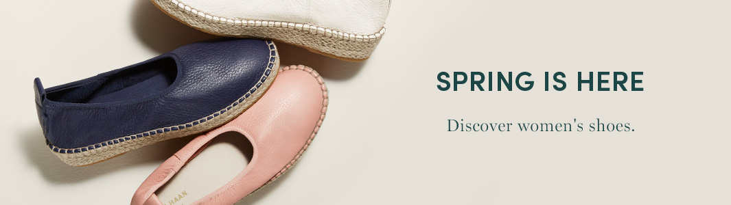 Spring Is Here - Discover women's shoes
