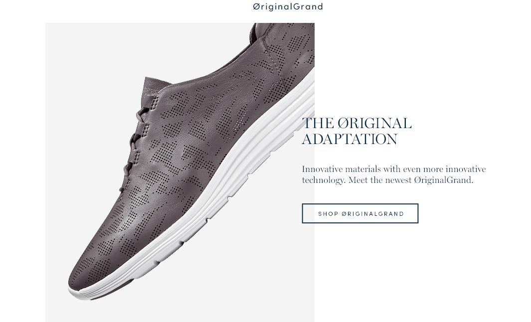 The Original Adaptation. Innovative material with even more innovative technology. Meet the newest OrigianlGrand. Shop OriginalGrand