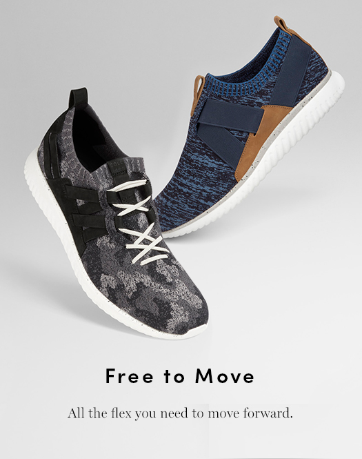 Free to Move: All the flex you need to move forward.