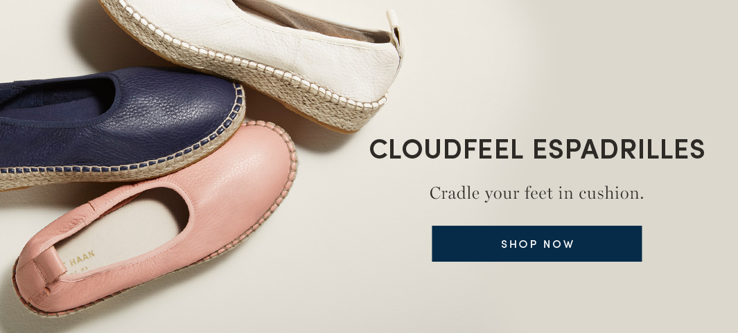 Cloudfeel Espadrilles - Cradle your feet in cushion