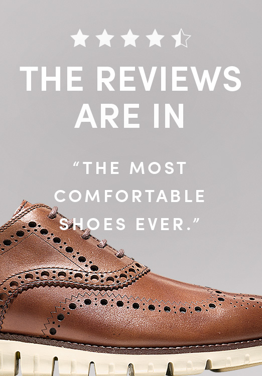 The Reviews Are In: The Most Comfortable Shoes Ever.