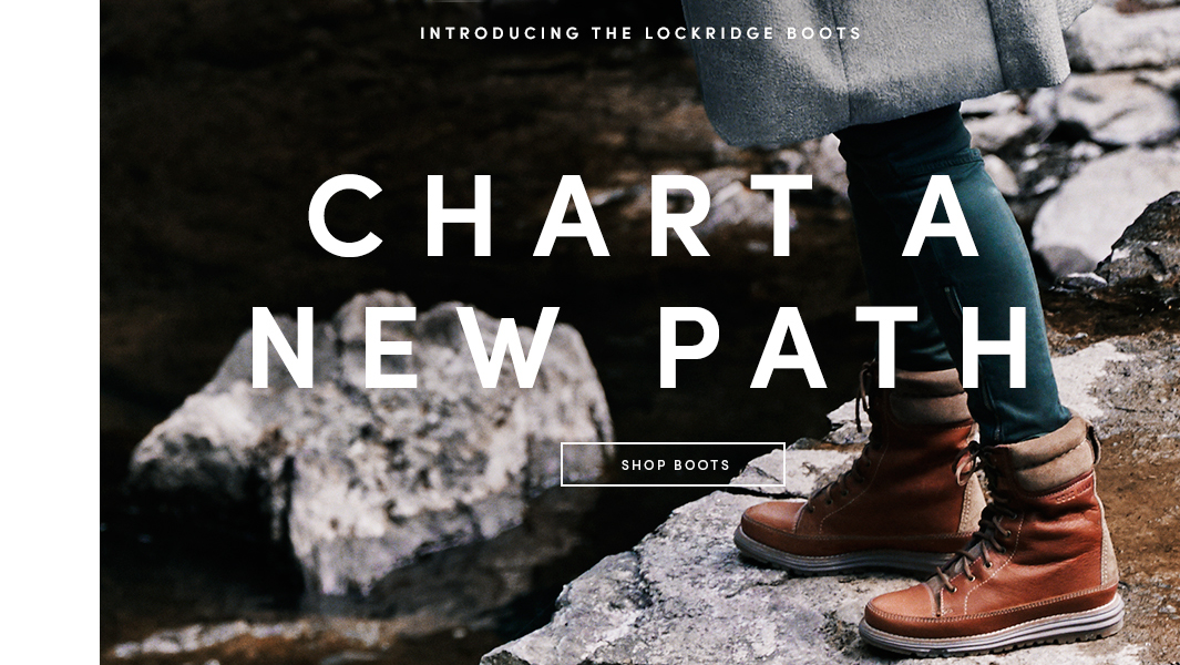 Introducing the Lockridge Boots: Chart a New Path