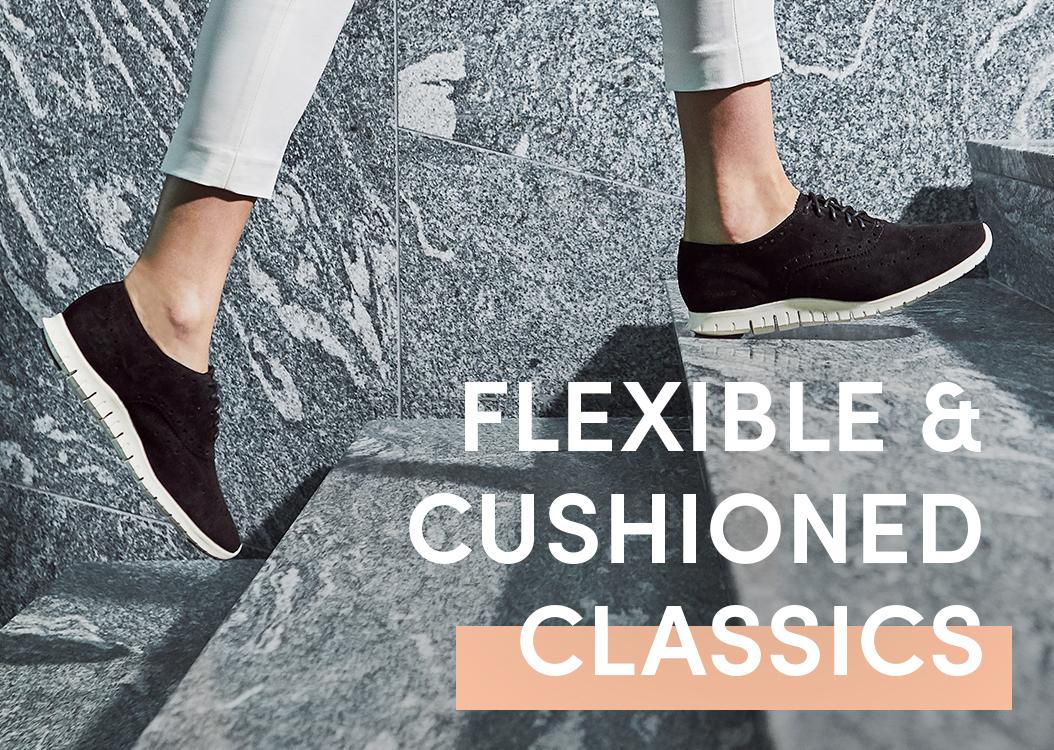Flexible & Cushioned Classics.