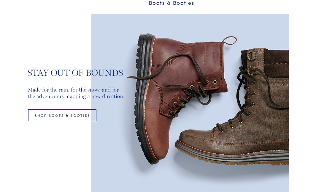 Stay Out of Bounds: Made for the rain, for the snow, and for the adventures mapping a new direction