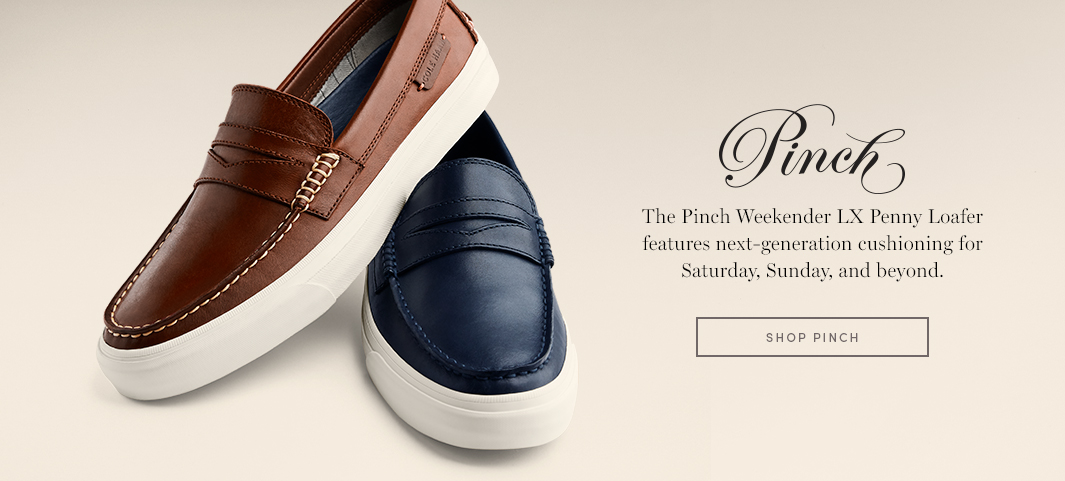 Pinch - The Pinch Weekender LX Penny Loafer features next-generation cushioning for Saturday, Sunday, and beyond