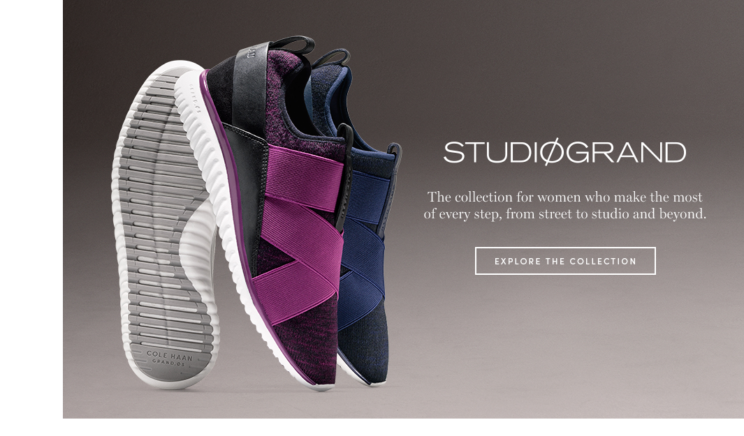 Studiogrand. the collection for women who make the most of every step, from street to studio and beyond