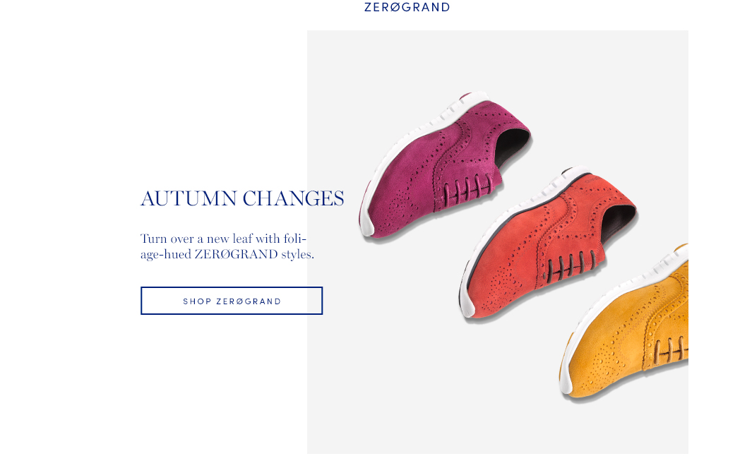 Autumn Changes: Turn over a new leaf with foliage-hued ZERØGRAND styles